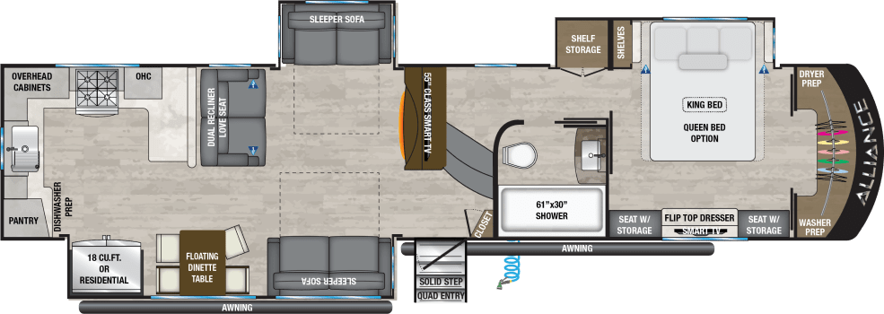 Paradigm Fifth Wheel By Alliance