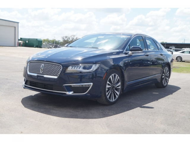 New Blue 2018 Lincoln Mkz Stk 18885 Car Pro Usa