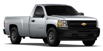 "2010 Chevrolet Silverado 1500 2WD Reg Cab 133.0"" Work Truck, 4603, Photo 1"