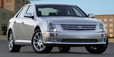 2007 Cadillac STS 4-door Sedan V6, 35958A, Photo 1