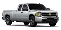 "New, 2011 Chevrolet Silverado 1500 4WD Ext Cab 143.5"" LT, White, 35014-1"