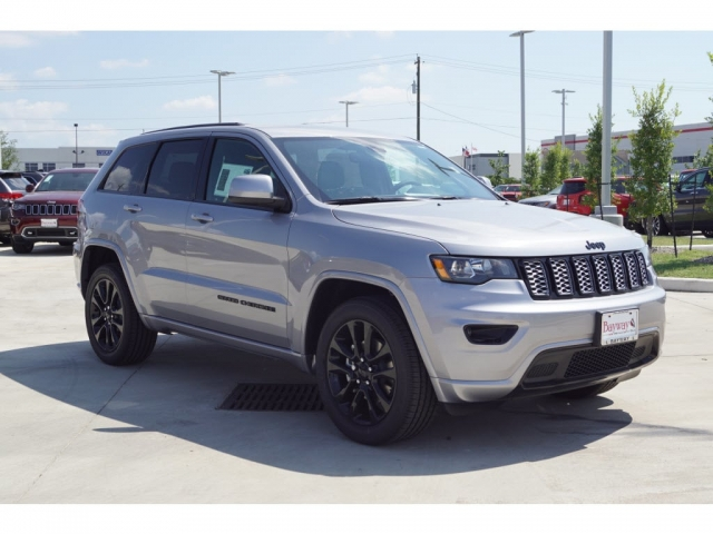 New Silver 2018 Jeep Grand Cherokee Stk B181248 Car Pro Usa