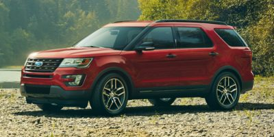 2017 Ford Explorer Base FWD, P4500, Photo 1