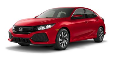2018 Honda Civic Hatchback LX CVT w/Honda Sensing, JU221463, Photo 1