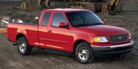 Used, 2001 Ford F-150, Blue, PV10913A-1