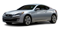 Used, 2010 Hyundai Genesis Coupe Grand Touring w/Nav, Silver, CC9081-1