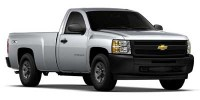 Used, 2010 Chevrolet Silverado 1500 Work Truck, White, AC8288-1