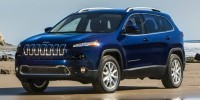 Used, 2014 Jeep Cherokee 4WD 4-door Sport, Blue, EW233762-1
