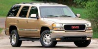 Used, 2002 GMC Yukon SLE, Gold, 2730-1
