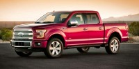 Used, 2015 Ford F-150 XLT, Blue, T40619A-1