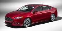 Used, 2014 Ford Fusion SE, Red, AF80-1