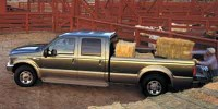 Used, 2004 Ford Super Duty F-250, Blue, T38119A-1