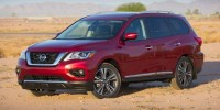 Used, 2017 Nissan Pathfinder SL, Black, 655307-1