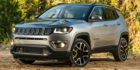 Certified, 2017 Jeep Compass Latitude 4x4, Black, HT666374-1