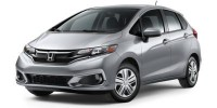 New, 2019 Honda Fit LX CVT, Black, KM728599-1