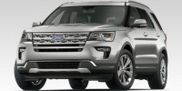 New, 2019 Ford Explorer Platinum, Black, L9032-1