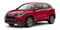 New, 2019 Honda HR-V Sport AWD CVT, Black, KG712963-1