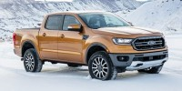 New, 2019 Ford Ranger LARIAT, Black, T46819-1