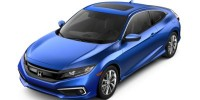 New, 2019 Honda Civic Coupe EX CVT, Black, KH352881-1
