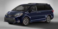 New, 2020 Toyota Sienna XLE AWD 7-Passenger, Silver, 00310543-1