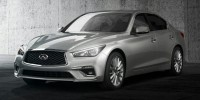 New, 2020 INFINITI Q50 3.0t LUXE RWD, Gray, LM205376-1