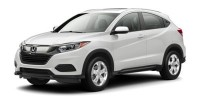 New, 2020 Honda HR-V LX AWD CVT, Black, LG700114-1