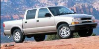 Used, 2001 Chevrolet S-10 LS, Red, SV4583A-1