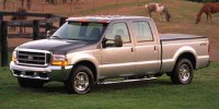 Used, 2002 Ford Super Duty F-250 Lariat, Gray, SV4501B-1
