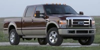 Used, 2008 Ford Super Duty F-250 Srw Lariat, Black, T47619B-1