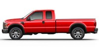Used, 2008 Ford Super Duty F-250 SRW, Red, AW9194-1