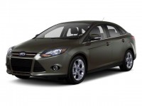 Used, 2012 Ford Focus 4-door Sedan SE, Red, NK0035A-1