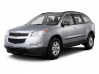 Used, 2012 Chevrolet Traverse LS, Silver, WF37-1