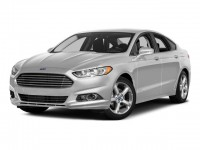Used, 2016 Ford Fusion SE, Black, AW202016-1