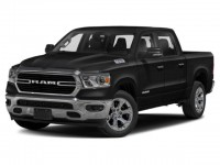 "New, 2021 Ram 1500 Big Horn 4x2 Quad Cab 6'4"" Box, Black, N708894-1"