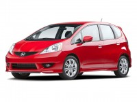 Used, 2009 Honda Fit Sport, Black, SV4469A-1