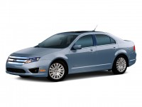 Used, 2010 Ford Fusion Hybrid, Gray, C04619A-1