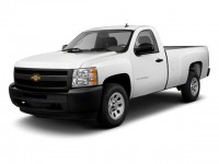 Used, 2010 Chevrolet Silverado 1500 Work Truck, Red, 74482B-1