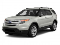 Used, 2014 Ford Explorer XLT, Red, L9171A-1