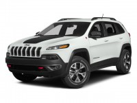 Used, 2014 Jeep Cherokee Trailhawk, Black, M8506C-1