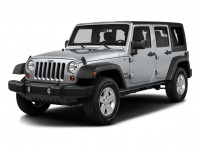 Used, 2016 Jeep Wrangler Unlimited Black Bear, Silver, M8623A-1