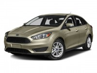 Used, 2016 Ford Focus SE, White, 74327A-1