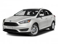 Used, 2016 Ford Focus SE, White, SV4861-1