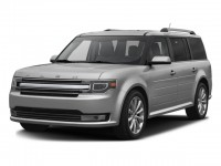 Used, 2016 Ford Flex Limited w/EcoBoost, Black, A11975-1