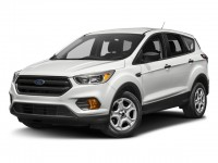 Used, 2017 Ford Escape SE, White, SV4864-1