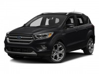 Used, 2017 Ford Escape Titanium, Black, SV4683-1