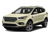 Used, 2017 Ford Escape Titanium, Orange, SV4675-1