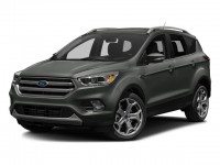Used, 2017 Ford Escape Titanium, Gray, SV4684-1