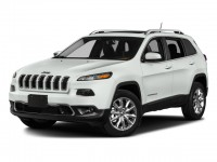 Used, 2017 Jeep Cherokee Latitude, Red, M9205A-1