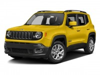 Used, 2017 Jeep Renegade Latitude, White, M9299A-1
