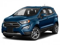 New, 2019 Ford EcoSport S, Black, T48519-1